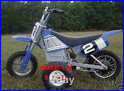 1 Set Of Razor MX 350 & 400 Training Wheels Mx350 Electric Bike & More Available