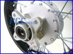 10 FRONT AND REAR RIM WHEEL DRUM BRAKE HONDA XR50 CRF50 STOCK 12mm I RM01K+02K
