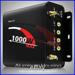 1000W Amp Motorcycle Waterproof Bluetooth Stereo 4-Speakers Audio MP3 System ATV