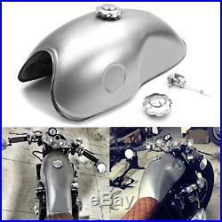 10L Benzintank Motorradtank Kraftstofftank Fr Honda/Suzuki/Yamaha/BMW Cafe-Racer