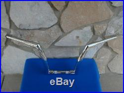 12 Chrome Dna Monster Fat Ape Hanger Bars 1-1/2 Harley Handlebars 1982 & Up