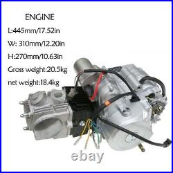 125cc Engine Motor 4 Stroke Electric Start Semi Auto for ATV QUAD BUGGY Go Kart