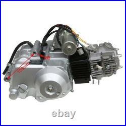 125cc Engine Motor Semi Auto withReverse Electric Start ATV Go Kart TRX90 ATC110