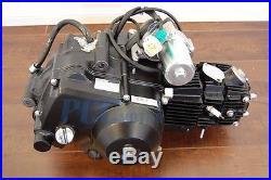 125cc Semi Auto Engine Motor 3 Speed +reverse Atv Quad Go Kart 3+1 P En19-basic