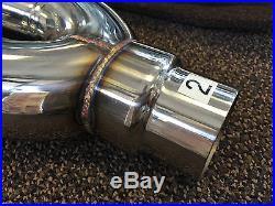 1320 Performance Blastpipes blast pipe exhaust STAINLESS UNIVERSAL MUFFLER V2