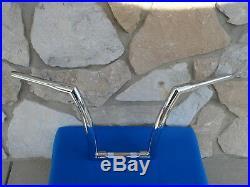14 Chrome Dna Monster Fat Ape Hanger Bars 1-1/2 Harley Handlebars