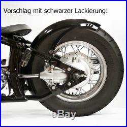 170 mm breiter runder Bobberfender und Halter Kit für XVS Dragstar Bobber Custom