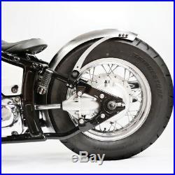 180 mm breiter runder Bobberfender und Halter Kit für XVS Dragstar Bobber Custom