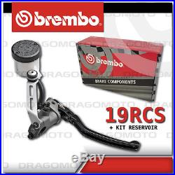 19 RCS BREMBO 19rcs Forged Brake Master CYLINDER 110A26310 18-20 + Kit Reservoir