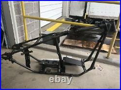 1941-46 Harley Davidson Knucklehead Rigid Frame Authentic Reproduction