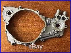 1989-2001 Honda CR500R Right Crankcase Cover & Cvr Gasket Water Pump Side OEM