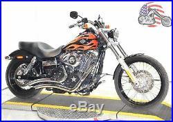 2 1/4 Chrome Big Radius Radius Curves Full Exhaust Drag Pipe System Harley Dyna