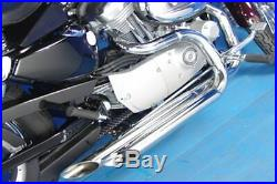 2 1/4 Stepped Header Performance Exhaust Drag Pipes 86-2006 Harley Sportster XL