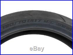 2 New Full Bore M1 Super Bike Tire Set 120/70-17 & 190/50-17 MOTORCYCLE TIRES
