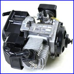 2 Stroke 47cc 49cc Engine Motor Kit Muffler Gas Tank fr Mini Bike Scooter Gocart