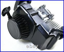2 Stroke 49cc 47cc Engine Motor Exhaust Mini Pocket Dirt Bike ATV Quad