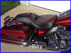 2011-17 Harley Davidson Street Glide seat cover. 2010-17 Road Glide replacement