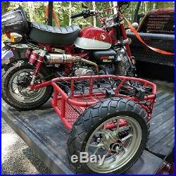 2019 Honda Monkey Motorcycle MUS Utility Sidecar