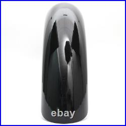 21 Wrap Front Fender Gloss Black For Harley Touring Electra Road Glide Baggers