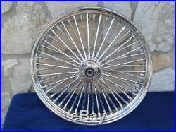 21x3 & 16x3.5 Dna Mammoth Fat Daddy 52 Spoke Wheels 4 Harley Softail & Touring