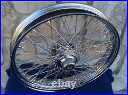 21x3.5 60 Spoke Dna Front Wheel 4 Harley Baggers Street Glide Road King 00-07