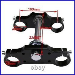 29 45/48mm Triple Tree Clamp Front Forks Shock For Dirt Pit Bike KLX110 SSR125
