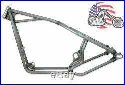 30/0/0 Kraft Tech Rigid Hardtail Frame 2004-2020 Harley Sportster Bobber Chopper