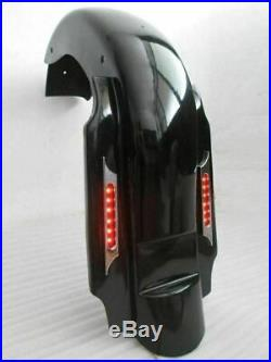 4 Bagger Summit Rear Fender Stretched Extended For Harley Touring Glide 93-2008