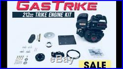4-Stroke Engine 212cc Beast Powerhouse For TRIKE engine kit. Motorized Bicycles