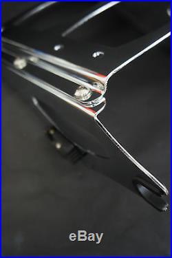 4 point docking kit Tour pak luggage rack Harley Davidson touring 09-13 WISDOM