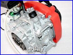 4 stroke 49cc Huasheng 142F OHV Engine Motorised Push Bike Ride on ESKY Scooter