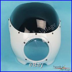 5 3/4 Headlight Fairing Windshield For Matt Cafe Racer Drag Racing Viper Class