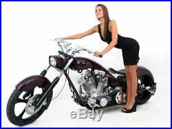 5 Stretched Gas Fuel Tank Stretch Harley-davidson Custom Chopper Motorcycle
