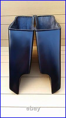 6 Inch Stretched Bags, Lids And Led Rear Fender For Harley Touring 1996-2013