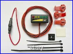 6v 12v 24v LED battery status alternator monitor level meter lamp indicator