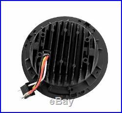7 Zoll 178 mm LED Scheinwerfer rund zugelassen mit E-Nummer