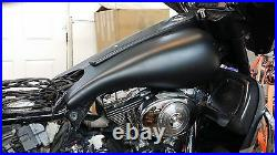 87-07 Harley Davidson 5 Gallon Stretched Tank Shrouds & Dash Panel
