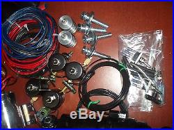 94-13 Harley Davidson Touring Instant Front & Rear Air Ride Kit Wired & Plumbed