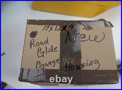 98-13 OEM Harley Road Glide Gauge Housing cover Nacelle Speedo Housing Fairing