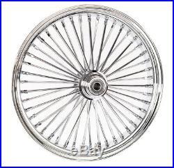 ACM 21 x 3.5 46 Fat Daddy Spoke Front Wheel Chrome Rim Harley Touring Softail SD