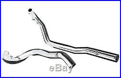 ACM Black True Duals Headers Exhaust Pipes System Harley Touring Bagger 95-08