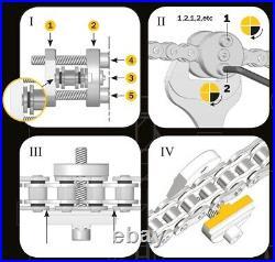 AFAM Ketten Nietwerkzeug Easy RIV5 für Hohlnieten Motorrad Quad DID RK EK 3D