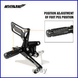 Adjuster Foot Peg Rearset Fit For Suzuki GSXR750 GSXR600 99-05 GSXR1000 01-04 UK
