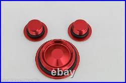 Airtime Cnc Billet Engine Plug Kit Honda Crf 250r 250x 450r 450x (2005-2017)-red