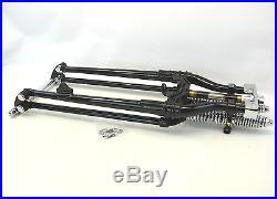 Antique Vintage Replica Black 34 24 4 Over Stock Springer Fork Front End FXST
