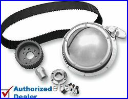 BDL 2 Shorty Open Belt Drive Primary Kit 1970-1978 Harley Shovelhead Big Twin