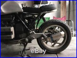 BMW K100 K1100 41 Carbon Edelstahl Endtopf Auspuff