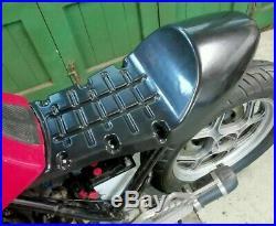 BMW K100 K75 K1100 Custom Cafe Racer Street Scrambler Seat Black ABS