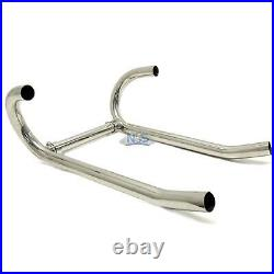 BMW R100 R90 R80 R75 Stainless Steel Polished 38mm Exhaust Header Head Pipes