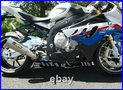 BMW S1000 RR 2009-2014 Exhaust Cat Cover Belly Pan Fairing Extension